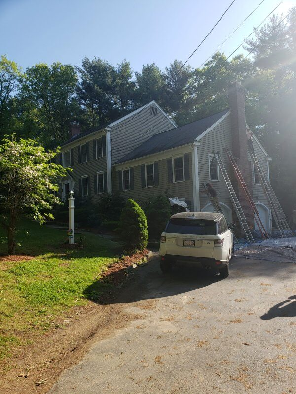 hingham exterior painting