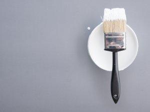 white paint